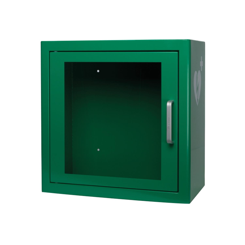 AED kast binnenshuis Heartsine defibrillator - groen