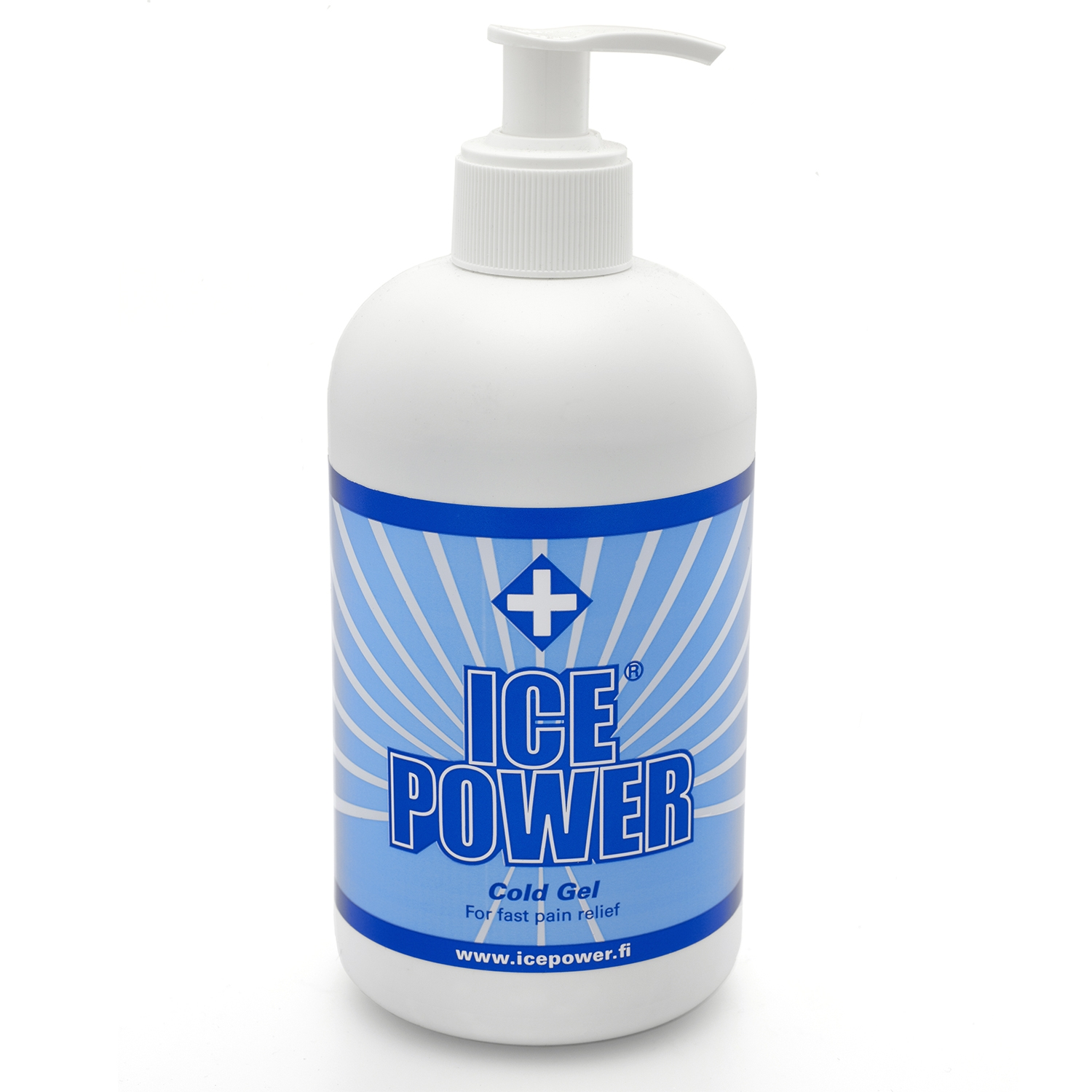 Ice Power cold gel - pompfles -  400 ml