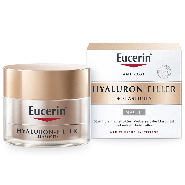 Eucerin Hyaluron-filler + elasticity nacht - spf15 - 50 ml