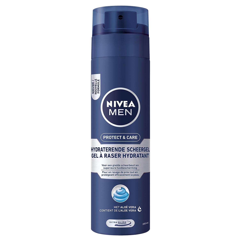 Nivea men protect&care scheergel hydraterend - 200 ml