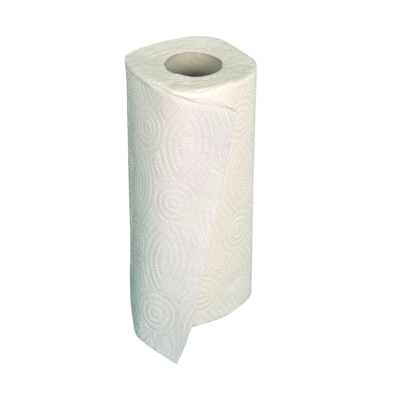 Keukenrol gewafeld papier 2 lagen - wit (32 st)