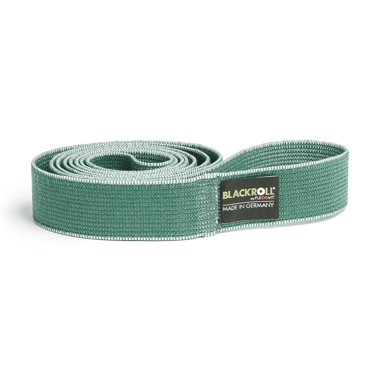 Blackroll Super loop band textiel - medium - groen - 104 cm