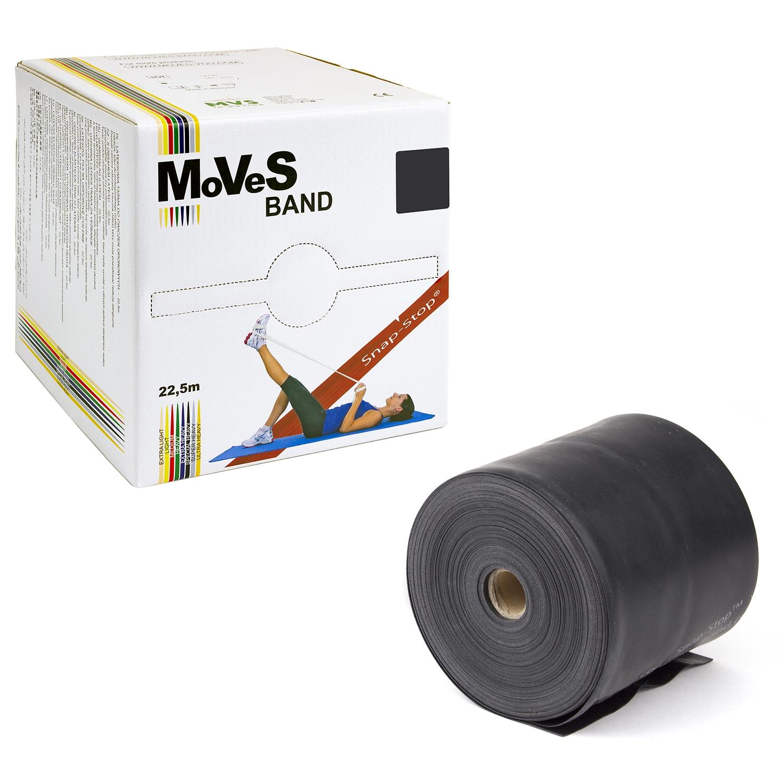 MoVeS oefenband - 22,5 m - speciaal sterk - zwart