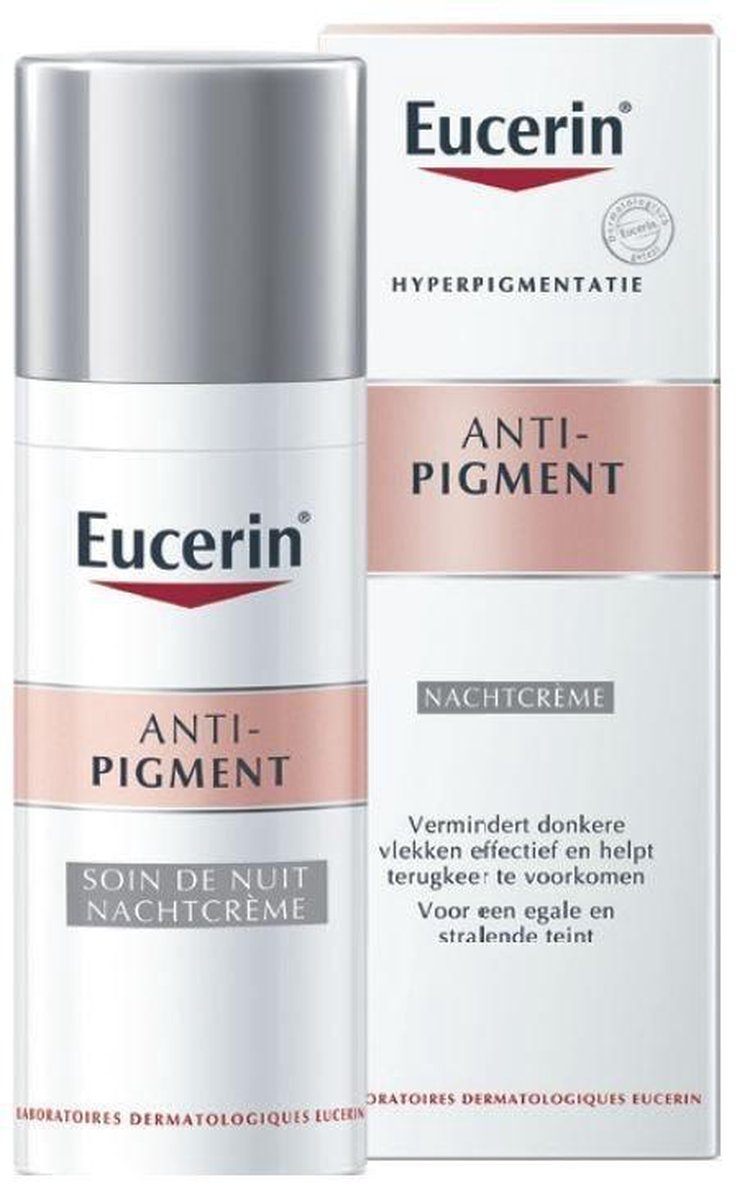 Eucerin anti-pigment nachtcrème - 50 ml (einde voorraad)