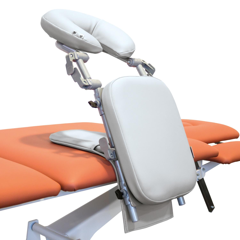 Massagehoofdsteun opvouwbaar - lichtgrijs