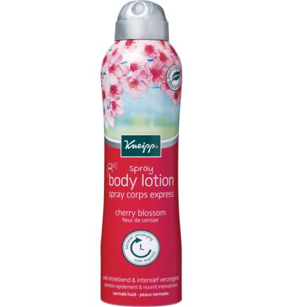 Kneipp bodylotion spray Cherry blossom - 200 ml