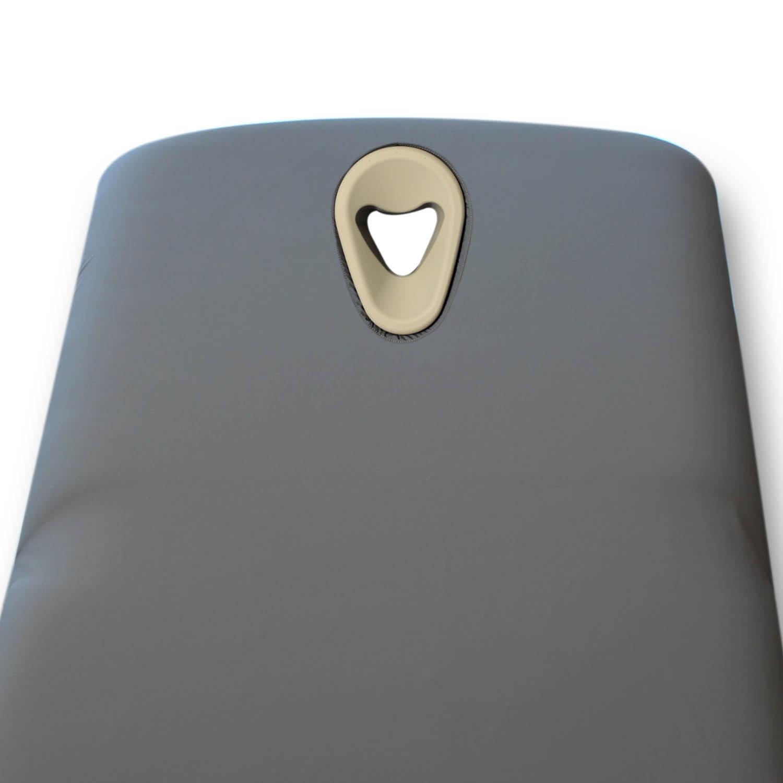 Desinfecteerbare hoes - gezichtsopening Ergomax - PU - graniet