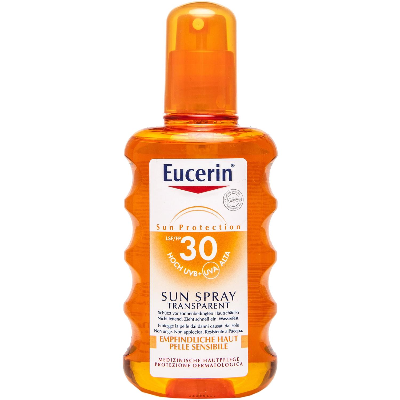 Eucerin sun spray transparant - 200 ml