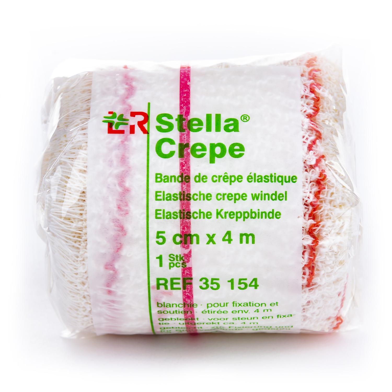 Stellacrepe individueel verpakt rol - 4 m