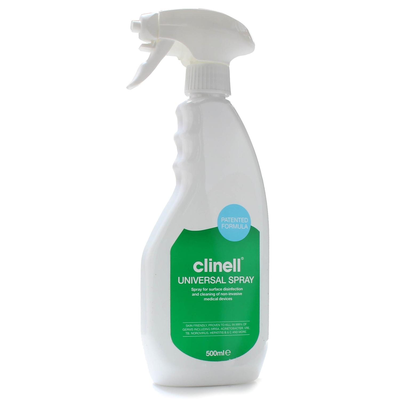 Clinell Universal schuim-spray - alcoholvrij - desinfectie medische oppervlakken - 500 ml