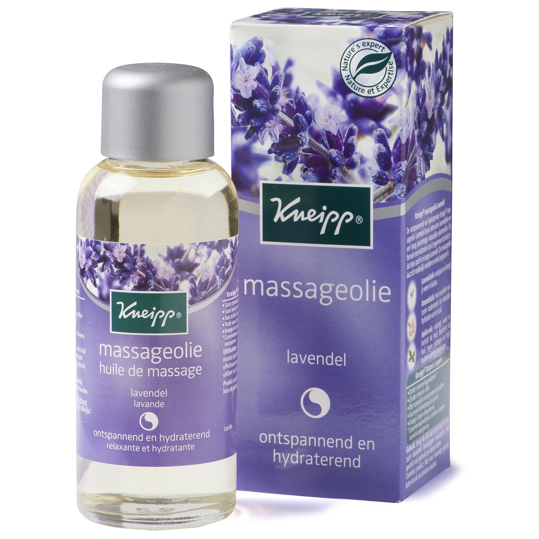 Kneipp massage olie - 100 ml