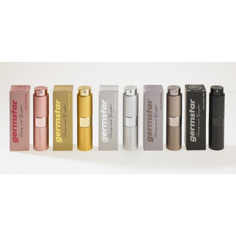 Germstar Luxe handontsmetting 70% - set (pocketspray + refill) 133 ml